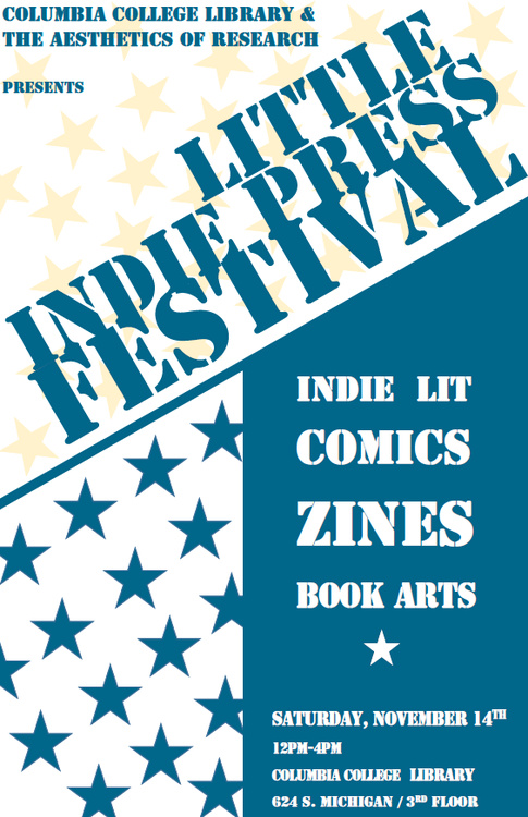 Flyer for Little Indie Press Festival