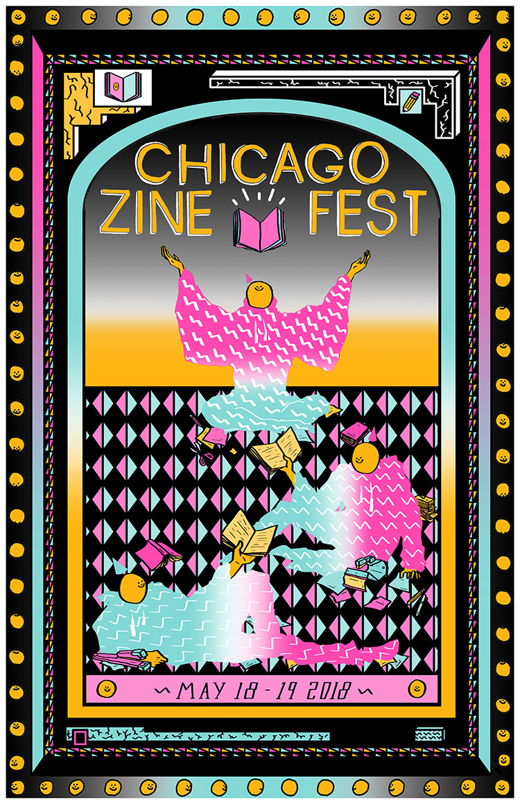 Image result for chicago zine fest 2018