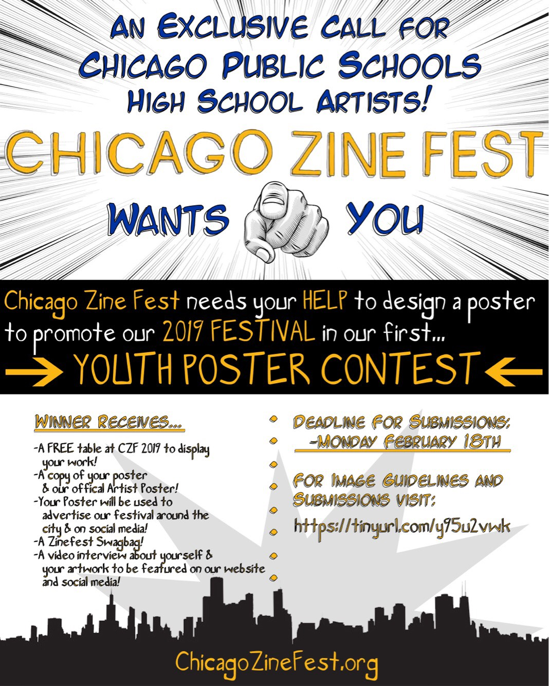 Announcing the CZF Youth Poster Contest!